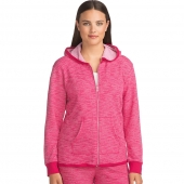 Hanes Women's French Terry High Low Zip Hoodie
