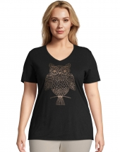 JMS Whoot Whot Short Sleeve Graphic Tee