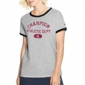 Champion Women Heritage Ringer Tee-Arch
