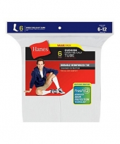 Hanes Men's Over the Calf Tube Socks P6