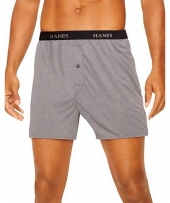Hanes Classics Men's TAGLESS ComfortSoft Knit Boxers with Comfort Flex Waistband