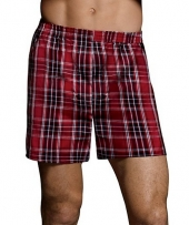 Hanes Ultimate Men's TAGLESS Tartan Boxers with Comfort Flex Waistband