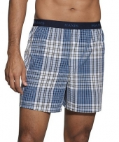 Hanes Classics Men's TAGLESS Boxer with Comfort Flex Waistband
