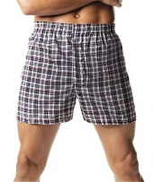 Hanes Men's Tartan Boxers with Comfort Flex Waistband