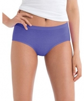 Hanes Women's No Ride Up Low Rise Cotton Brief