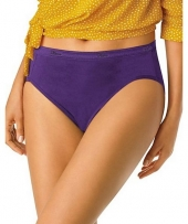 Hanes Cool Comfort™ Women's Cotton Hi-Cut Panties