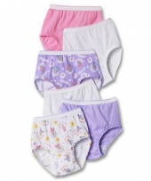 Hanes TAGLESS Toddler Girls' Cotton Briefs