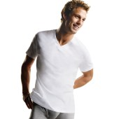 Hanes Men's ComfortSoft V-Neck Undershirt