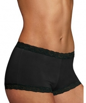 Maidenform® Microfiber and Lace Boyshort