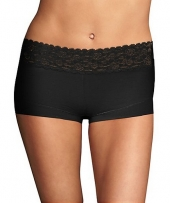 Maidenform Cotton Dream Boyshort With Lace