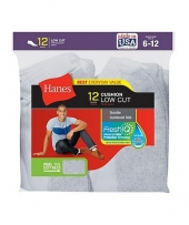 Hanes Men's Low Cut Socks 12-Pack