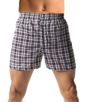 Hanes Men's TAGLESS Woven Boxers with Comfort Flex Waistband