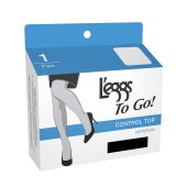 L'eggs To Go Control Pantyhose 1 pair