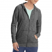 Champion Women's Heathered Jersey Jacket