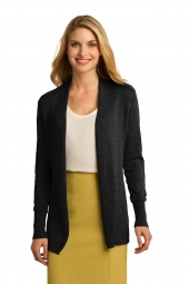 Ladies Open Front Cardigan Sweater