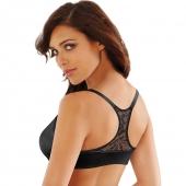 Lilyette® by Bali® Elegant Lift & Smooth Front Close T-Back Bra