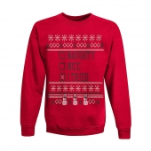 Hanes Boys' Ugly Christmas Sweatshirt