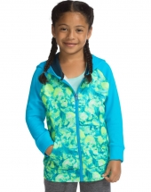 Hanes Sport™ Girls' Tech Fleece Full Zip Hoodie