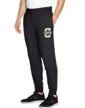 Champion Men's Heritage Fleece Jogger Letterman Leg