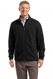 Sweater Fleece Full-Zip Jacket