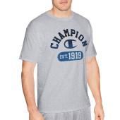 Champion Men Graphic Jersey Tee - Gym Fade