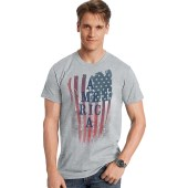 Hanes Men's America US Graphic Tee