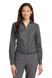 Ladies Non-Iron Diamond Dobby Shirt
