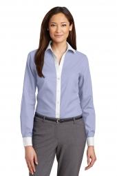 Dress Shirt Blue/ White