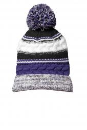 Purple/ Black/ White
