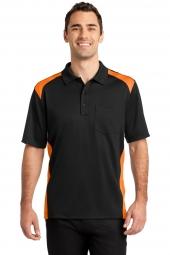Black/ Shock Orange
