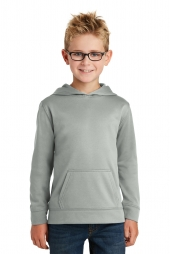 Youth Performance Fleece Pullover Hooded Sweatshirt