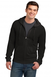 Young Mens Jersey Full-Zip Hoodie