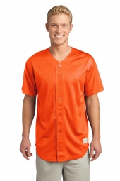 PosiCharge Tough Mesh Full-Button Jersey