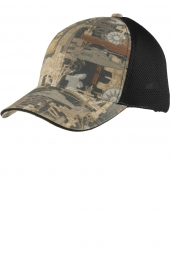 Oilfield Camo/ Black Mesh