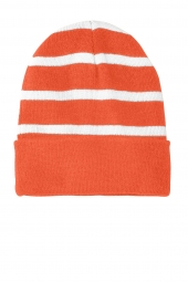 Deep Orange/ White