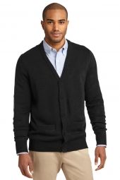 Value V-Neck Cardigan Sweater with Pockets