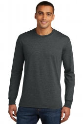 Mens Perfect Tri Long Sleeve Crew Tee